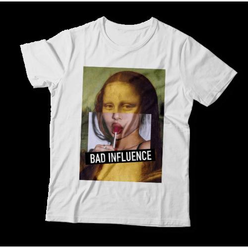 "Tricou ""Bad Influence"""