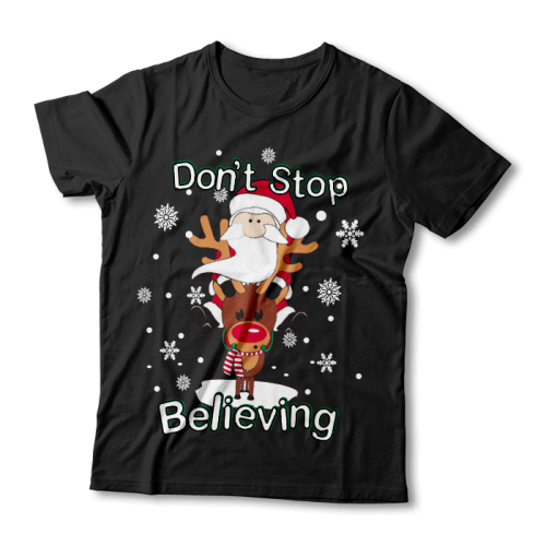 """Tricou """"Don't Stop Believing"""""""