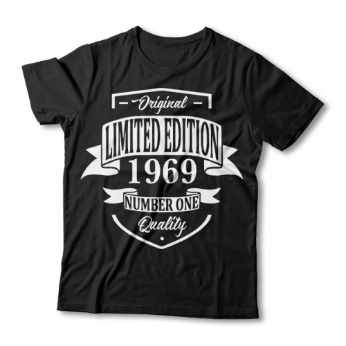 "Tricou ""Limited edition 1969"""