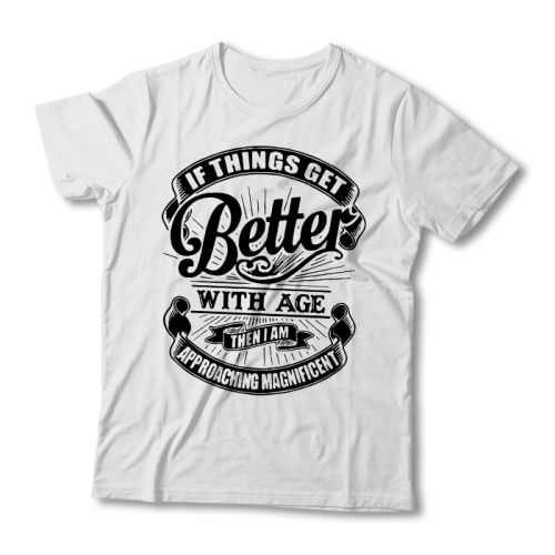 "Tricou ""Things get better"""