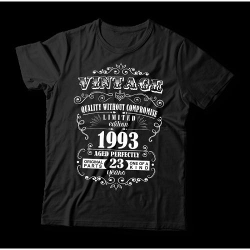 Tricou aniversar Vintage