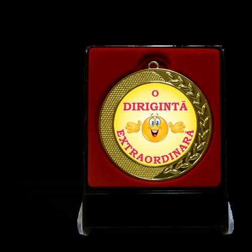 """Medalie in cutie """"Diriginte"""""""