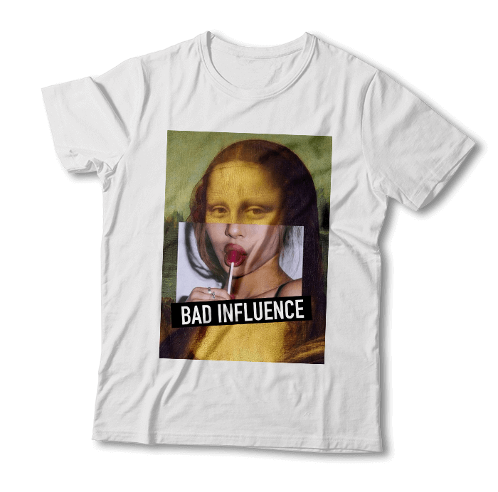 "Tricou ""Bad Influence"""