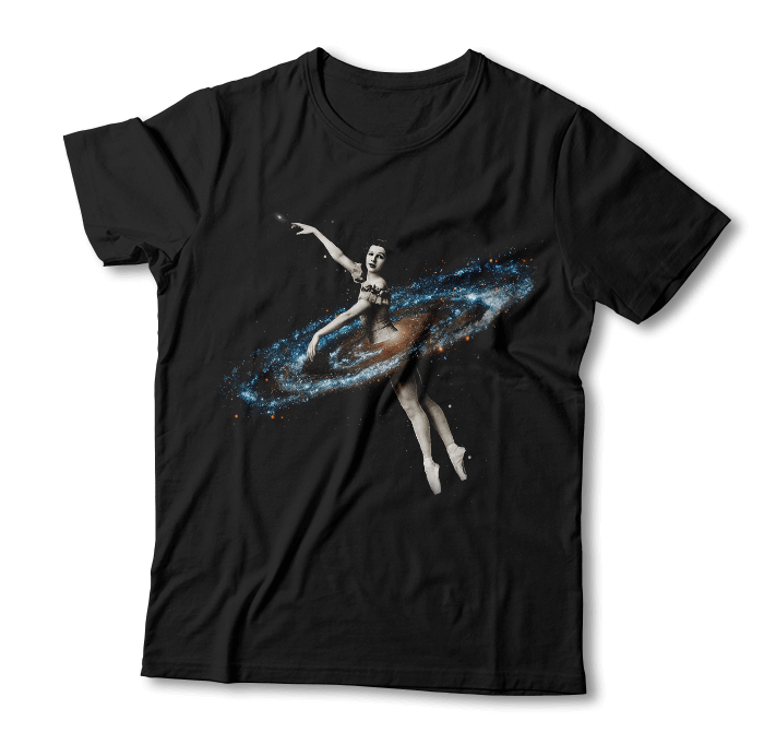 "Tricou ""Space Ballerina"""