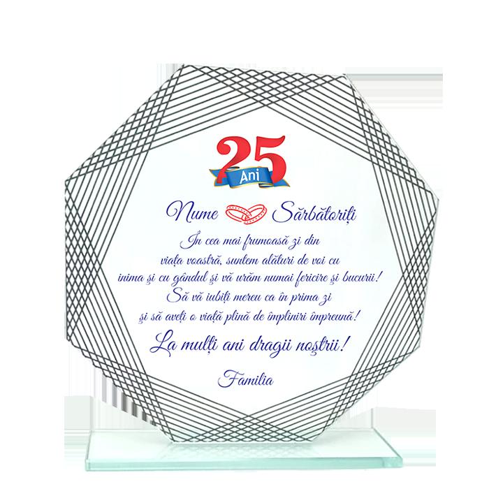 "Trofeu Sticla 4 - ""Nunta de Argint"""