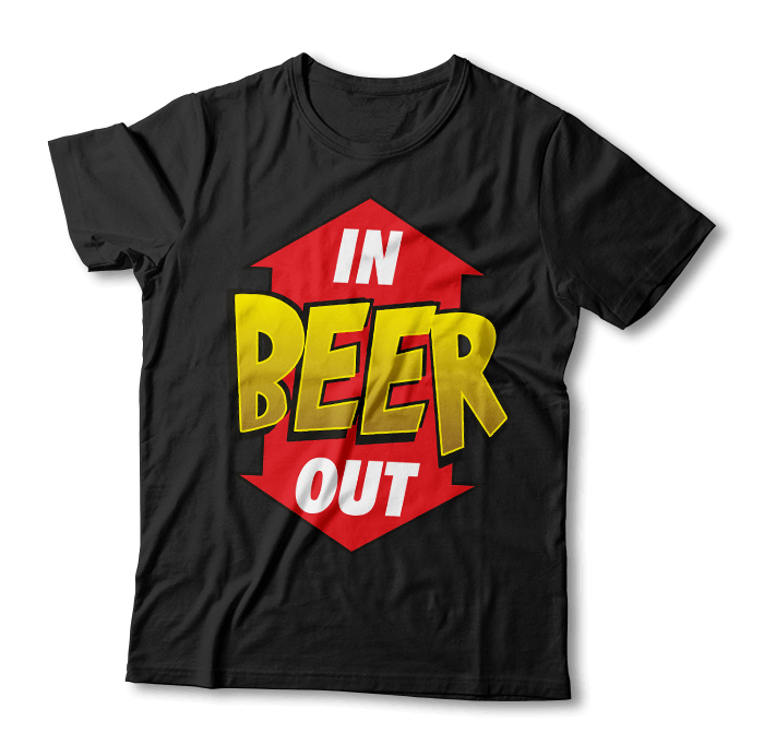Tricou Beer In/Out