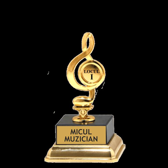 """Trofeu """"Micul muzician"""""""
