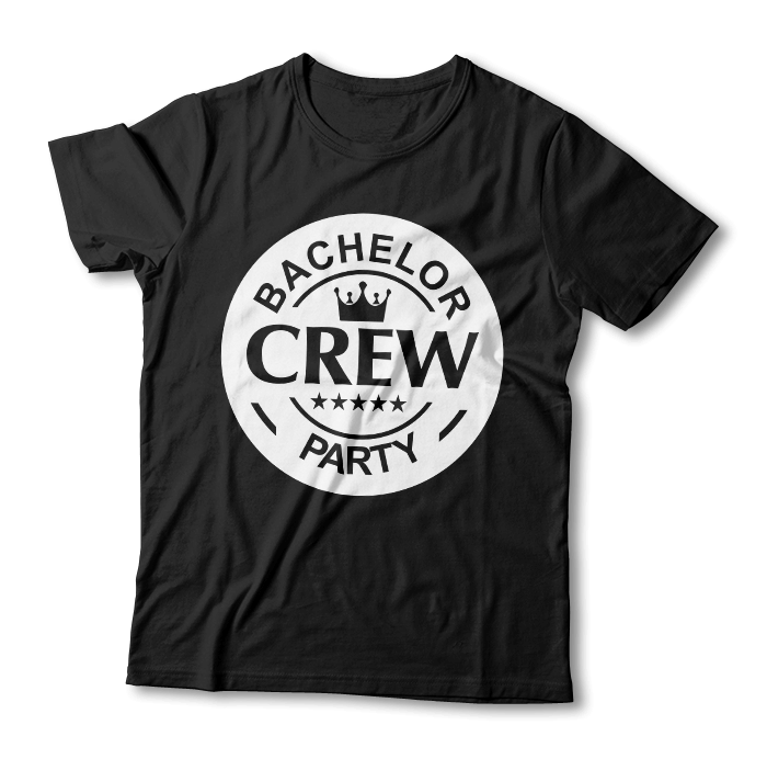 "Tricou ""Bachelor Crew Party"""