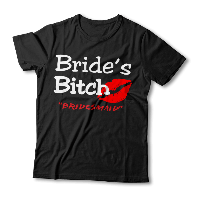 "Tricou ""Bride's Bitch"""