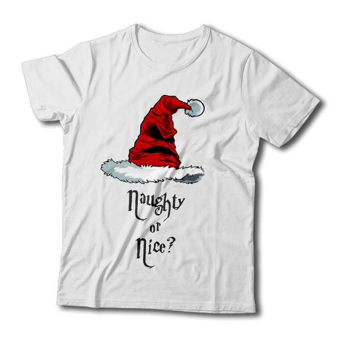 "Tricou ""Naughty or Nice"""