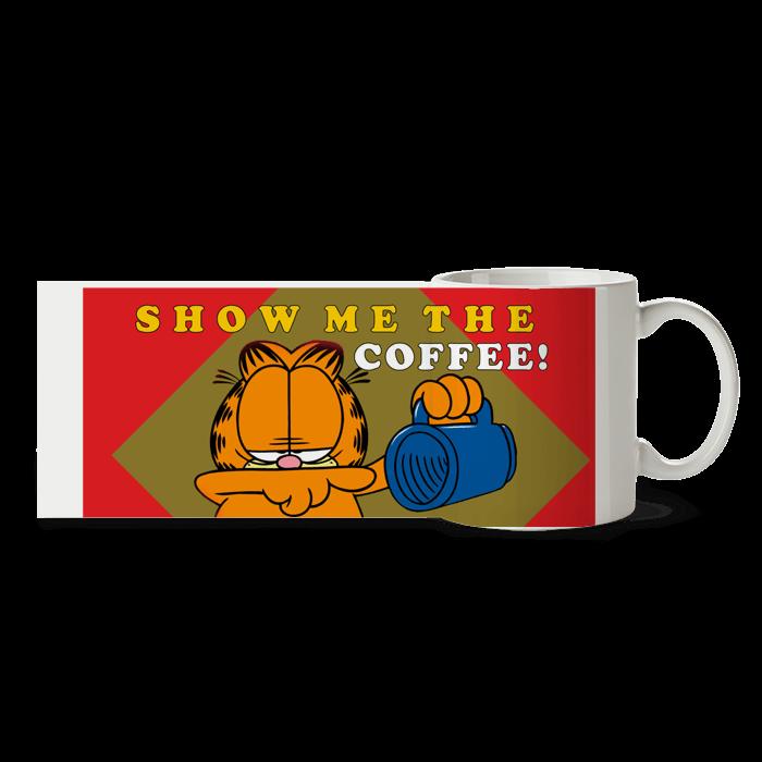 """Cana - """"Garfield - Show me the coffee"""""""