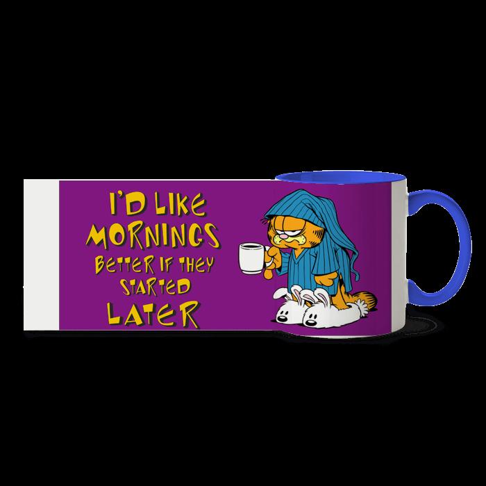 "Cana ""Garfield - I'd like mornings"""